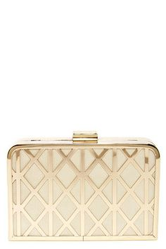 Free shipping and returns on Natasha Couture 'Sparkle' Box Clutch ...