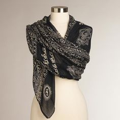 Pin for Later: 25 Gifts $10 and Under For Literally All the Moms in Your Life  Cost Plus World Market Shawl ($10)