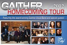 Gaither Vocal Band and all the artists in their homecoming DVD's