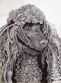 unique zentangle designs   Zentangle Dog Monty was one of the best dogs