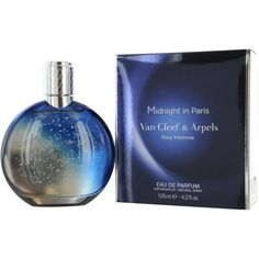 Van Cleef & Arpels Midnight in Paris Eau De Parfum Spray for Men, 4.2 Ounce by Van Cleef & Arpels. $38.13. Launched by the design house of Van Cleef & Arpels in 2010,. It is recommended for wear.. MIDNIGHT IN PARIS by Van Cleef & Arpels for Men posesses a blend of:. A luxurious fragrance for gentlemen Expresses the splendid beauty of fireworks display Conveys a touch of elegance joy & sensuality Features notes of black lily of the valley accord bergamot citron ...