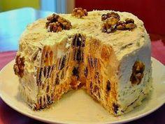 Все что нужно кулинару: Торт «Трухлявый пень»