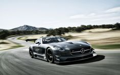 The Mercedes-Benz SLS AMG GT3, Do you think you could handle it?