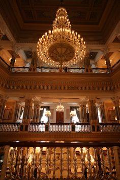 Ciragan Palace - interior (2) by Kunal and Sumona, via Flickr