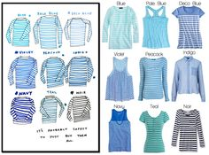 The Blue Stripe Shirt Challenge today over at Poor Little It Girl!