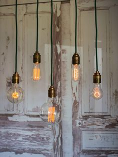 Retro Industrial Style Edison Filament Bulbs | thegiftedfew.com | Vintage Lighting | Get The Look | Inspirational Design | Warehouse Home Design Magazine