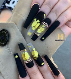 Stunning Nails and Arts That would Inspire You - Beta Protocol Bling Acrylic Nails, Summer Acrylic Nails, Best Acrylic Nails, Bling Nails, Swag Nails, Pastel Nails, Coffin Nails, Bling Nail Art, Edgy Nails