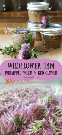 Wonderful Wildflower Jam - NittyGrittyLife