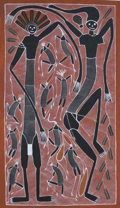 Mimi Spirit Art by Eddie Blitner. A great example of Australian Indigenous Art. Aboriginal Dot Painting, Aboriginal Artists, Indigenous Australian Art, Indigenous Art, Australian Aboriginals, Stippling Art, Aboriginal Culture, Spirited Art, Africa Art