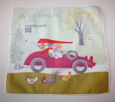 Vintage Printed Hummelsheim Car/Family-Themed by FelicesFinds