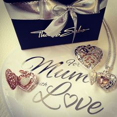Aren't mums the best? Send some love her way this Mother's Day by surprising her with one of our THOMAS SABO 'Heart' Medallions. You will receive a complementary matching chain and lovingly card from. Heart Pictures, Elegant Watches, Jewelry Shop, Jewellery, Thomas Sabo, Gifts For Mum, Sterling Silver Jewelry, Love Her, Bling