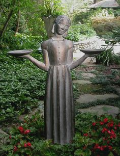 The Bird Girl statue is located in the Telfair Museum of Art at 121 Barnard Street in Savannah. It was removed from Bonaventure Cemetery in 1995 -Savannah, GA Outdoor Statues, Garden Statues, Garden Sculptures, Outdoor Sculpture, Savannah Georgia, Savannah Chat, Sexy Bikini, Illinois, Bonaventure Cemetery