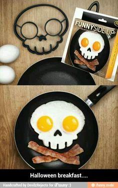 Halloween breakfast / iFunny :)