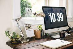 Beautiful Home Office ideas. From the danish blog copenhagenlife.blogspot.com