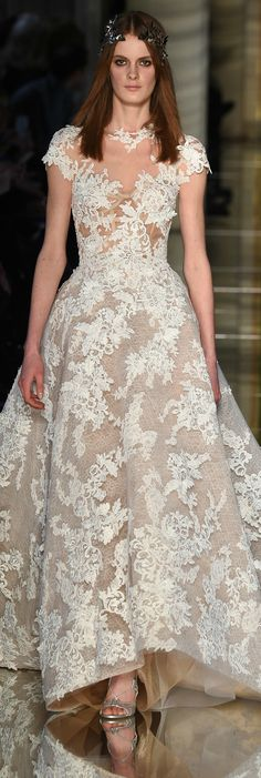 @Maysociety Zuhair Murad Spring 2016 Couture Collection