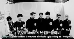jaehyo reminding everyone who the visual of the group is-- oh goodness