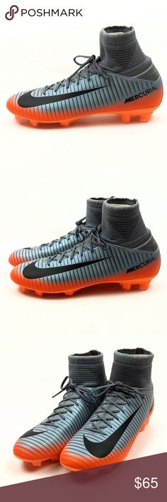 0fc538df4 Nike Jr Mercurial Superfly V FG Soccer Cleats 5Y Nike Junior Mercurial  Superfly V CR7 FG