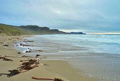 High tide in a moody Machir Bay, Isle of Islay