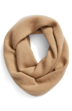 Halogen® Halogen® Knit Cashmere Infinity Scarf available at #Nordstrom