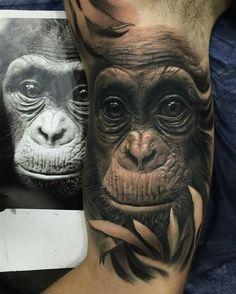 Me gusta, 157 comentarios - Dream Tattoos, Badass Tattoos, Time Tattoos, Future Tattoos, Leg Tattoos, Tatoos, Animal Sleeve Tattoo, Leg Sleeve Tattoo, Best Sleeve Tattoos