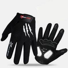 Orange Fox Sidewinder Long Fingered MTB Cycling Gloves 2016 XL XXL