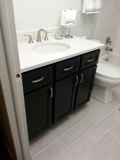 11 DIY Bathroom Vanity Plans You'll Love: Builder Grade Vanity From Ana White