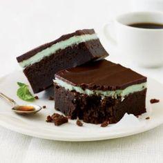 Chocolate-Mint Bars | CookingLight.com