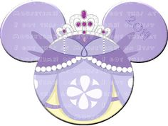 INSTANT DOWNLOAD  SOFIA the First Ears by MouseTime on Etsy
