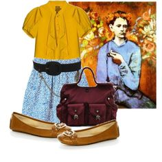 Art Inspired Outfit: Picasso, created by georgina-m on Polyvore