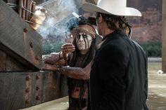 Johnny Depp y Armie Hammer