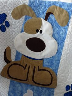 Puppy Dog Quilt for Baby