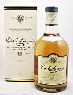 Dalwhinnie Scotch Whisky 15 year old Appearance: Gold. Nose: A big, crisp… Whiskey Or Whisky, Single Malt Whisky, Scotch Whiskey, Whisky Festival, Tequila, Ron, Alcoholic Drinks, Cigars, Gentleman