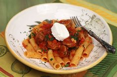Rigatoni Campagnolo from Italian Food Forever