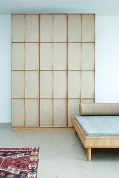 SLEEPING ROOM, cabinet and bed www.janbourquin.com