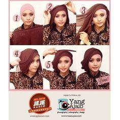 ... hijab tutorial on Pinterest | Hijab tutorial, Hijabs and Hijab styles