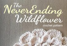 The Never Ending Wildflower Crochet Pattern | Free Crochet Pattern by Little M…