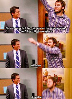 "And keeping a healthy diet: | 26 Reasons You Should Wish Your Best Friend Was Andy Dwyer From ""Parks And Recreation"""