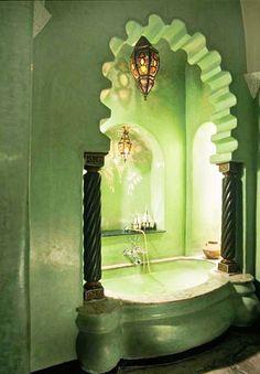 el baño más beautiful!