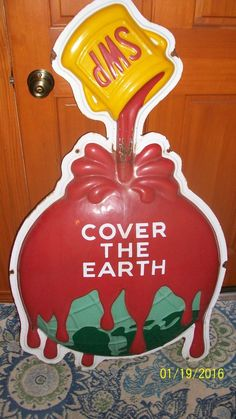 Swp Sherwin Williams Paints Porcelain Sign 1940's Rare Vintage Antique from $999.0