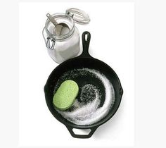 Cast Iron Pan | How To Clean (Almost) Anything And Everything