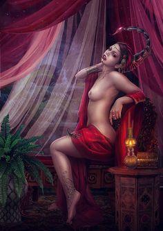 Bloody Zodiac. Scorpio. by Vasylina on deviantART