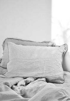 Beautiful Natural Linen Bedding | TheBalticGreen On Etsy