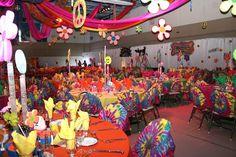 Ideas para decorar fiestas de los años 70`s | i24mujer