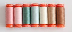 Aurifil Thread Collection for Kindred Spirits Fabrics