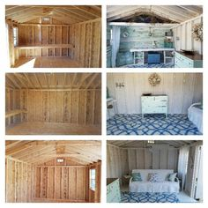 Every thought about how to house those extra items and de-clutter the garden? Building a shed is a popular solution for creating storage space outside the house. Whether you are thinking about having a go and building a shed yourself Craft Shed, Diy Shed, Shed Design Plans, Shed Plans, Shed Hangout Ideas, Shed Office, Shed Makeover, Backyard Makeover, Shed Decor