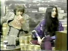Sonny & Cher Interview at The Tonight Show in 1975 - Rare - YouTube