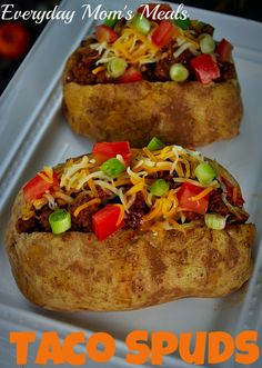 Everyday Mom's Meals: Taco Spuds