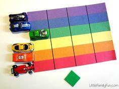 Little Family Fun: Rainbow Race!