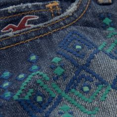 Bettys Low Rise Embroidered Short-shorts | #InHollister | HollisterCo.com