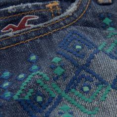 Festival Embroidery! | #Crowdsurfer | Hollisterco.com